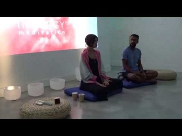 Dr. Denise Fournier at Innergy Meditation - Meditation's Role in Supporting Mental Health